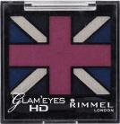 Rimmel Glam Eyes HD Quad Eye Shadow - 001 Black Cab