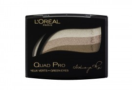 L'Oreal Quad Pro Eye Shadow Palette -319 Golden Green