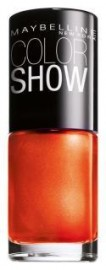 Maybelline Color Show Nail Polish 182 Solar Flare