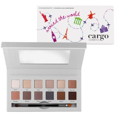 Cargo Around The World Eye Shadow Palette
