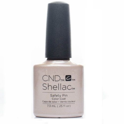 CND SHELLAC POLISH SAFETY PIN x 1