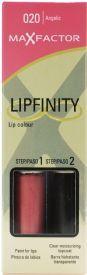 Max Factor Lipfinity Lipstick - 020 Angelic