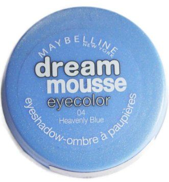 Maybelline Dream Mousse Eyecolour Eyeshadow - 04 Heavenly Blue