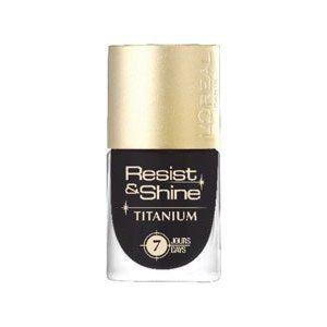 L'Oreal Resist and Shine Titanium Nail Polish - 710