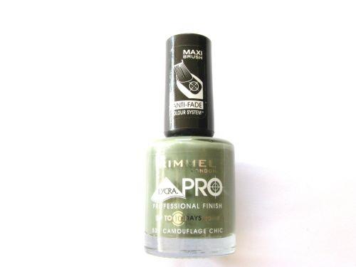 Rimmel  Lycra Pro Nail Varnish - 520 Camouflage Chic