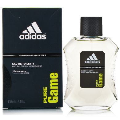 Adidas Pure Game Eau De Toilette Natural Spray 100ml
