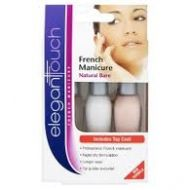 Elegant Touch French Manicure Kit Shade - Natural Bare