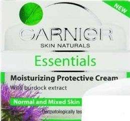 Garnier Skin Naturals Soft Essentials Moisturizing Protective Cream - Normal Combo Skin