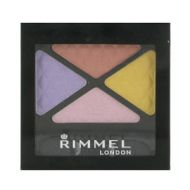Rimmel Glam Eyes Quad Eye Shadow - 025 Summer Bloom