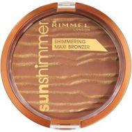 Rimmel Sun Shimmer Shimmering Maxi Bronzer - 001 Sun Kiss