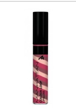Manhattan Colour Loop Lip Gloss - 65H Wildberry