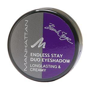 Manhattan Duo Endless Stay Cream Eyeshadow 3 Purple Pankow
