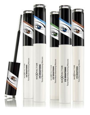 Max Factor Eye Brightening Mascara - Black Ruby For Green Eyes