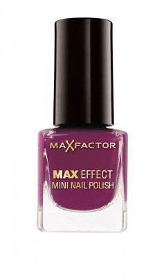 Max Factor Max Effect Mini Nail Polish - 24 Intense Plum