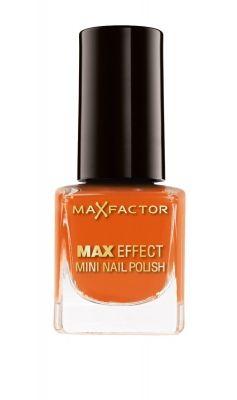 Max Factor Max Effect Mini Nail Polish - 25 Bright Orange