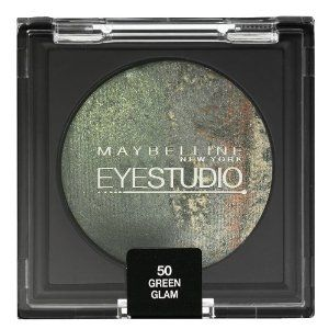 Maybelline EyeStudio Color Cosmos Duo Eyeshadow - 50 Green Glam