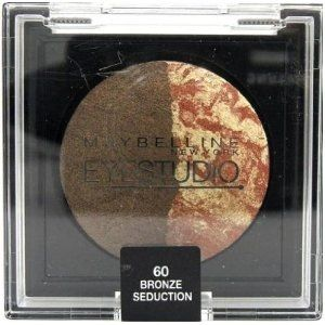 Maybelline EyeStudio Color Cosmos Duo Eyeshadow - 60 Bronze Seduction