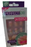 Perfect 10 Instant False Nails - Pink