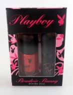 Playboy Boudoir Bunny Divine Duo Nail Polish and Lipstick Set Red