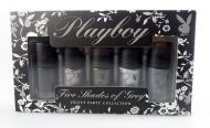 Playboy Five Shades Of Grey Velvet Party Collection Nail Polish Set