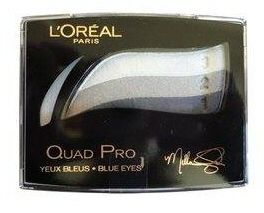 L'Oreal Quad Pro Blue Eyes - 337 Sapphire Crystal