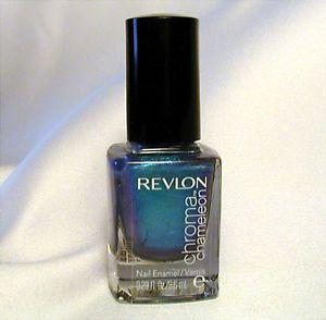 Revlon Chroma Chameleon Nail Polish Aquamarine
