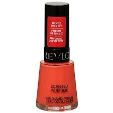 Revlon Scented Nail Polish - Mad About Mango
