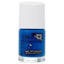 Rimmel Brit Manicure Nail Tip Colour 449 Brit Blue