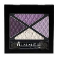 Rimmel Glam Eyes Quad Eye Shadow - 017 Dark Signature