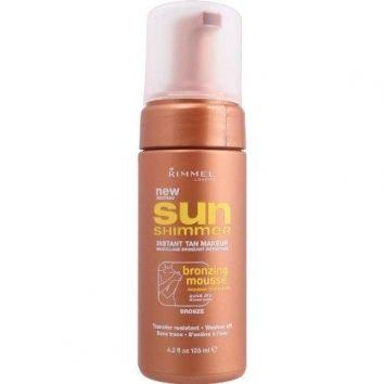 Rimmel Sun Shimmer Bronzing Mousse -Bronze