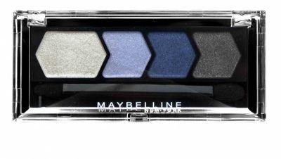Maybelline Silk Glam Eyestudio Quad Eyeshadow - 10 Blue Drama