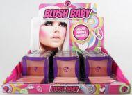 W7 Blush Baby Groovy Powder Blusher - Heart Throb