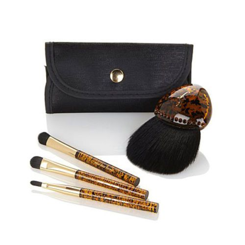 YBF Stunning Faux Tortoise Shell Brush Collection