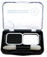 Laval Duo Eyeshadow - Black and White