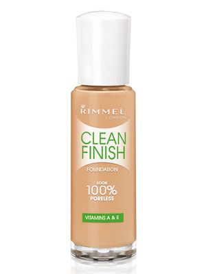 Rimmel Clean Finish Foundation -100 % Poreless  - 330 Sand