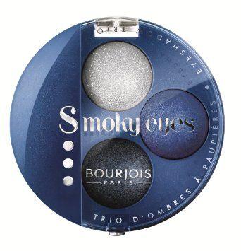 Bourjois Smoky Eyes Eye Shadow Trio - 15 Bleu Nuit