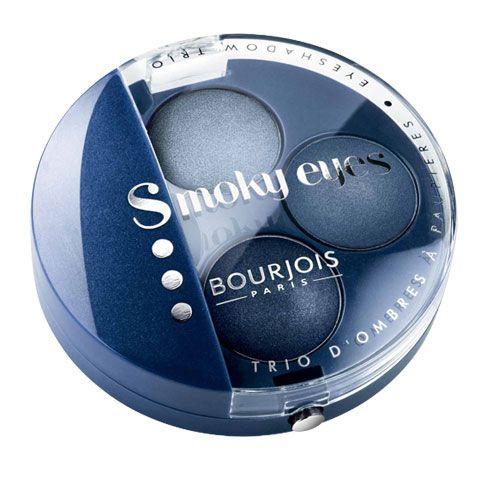 Bourjois Smoky Eyes Eye Shadow Trio - 11 Bleu Jeans