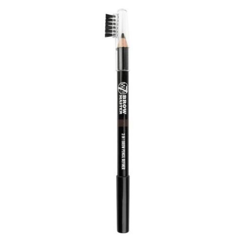 W7 Brow Master 3-in-1 Pencil - Draw, Shape, Wax! - Red Brown