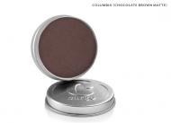 Cargo Single Eye Shadow Tin - Columbia - Chocolate Brown Matte