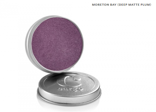 Cargo Single Eye Shadow Tin  Moreton Bay Deep Matte Plum