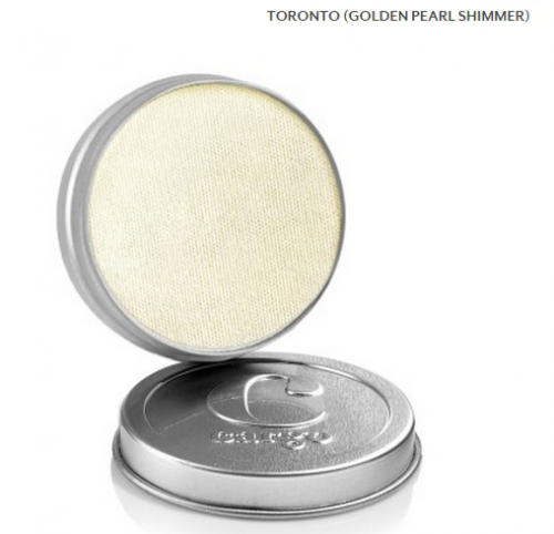Cargo Single Eye Shadow Tin - Toronto - Golden Pearl Shimmer