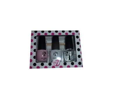 W7 Trio French Affair Manicure Nail Polish Set Cannes