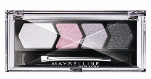 Maybelline Silk Glam Eyestudio Quad Eyeshadow - 12 Gey Pink Drama