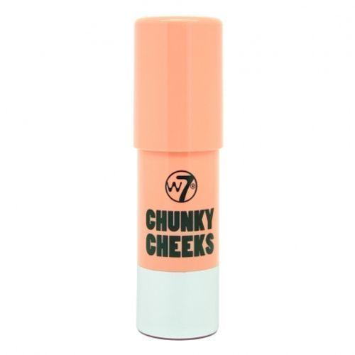 W7 Chunky Cheeks Pan Stick Blusher - London