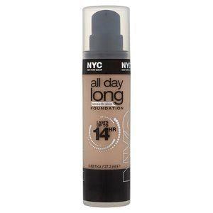 NYC 14hr All Day Long Smooth Skin Foundation - 740 Warm Beige