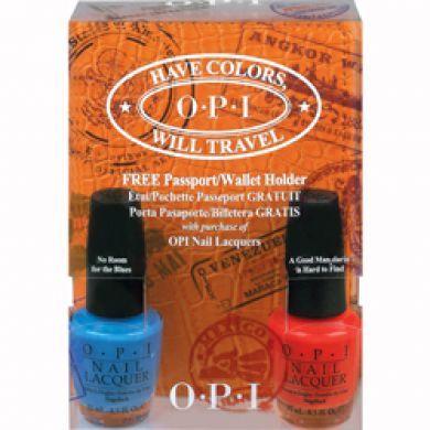 OPI Have Colors Will Travel Nail Varnish Set