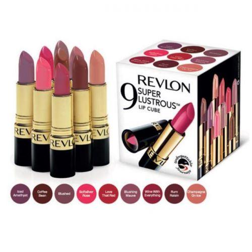 Revlon Super Lustrous Lip Cube - 9 Silky Smooth Lipsticks