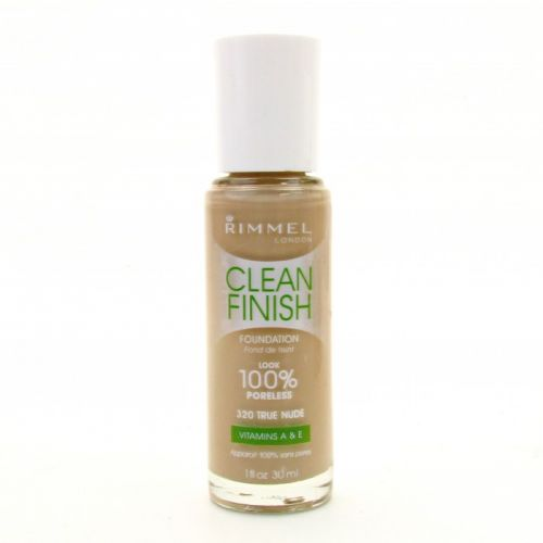 Rimmel Clean Finish Foundation -100 % Poreless  - 320 True Nude