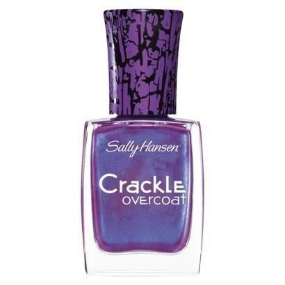 Sally Hansen Crackle Nail Polish - Crackle Overcoat - 02 Vintage Violet