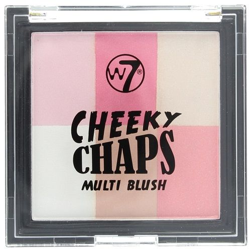 W7 Cheeky Chaps Multi Blush - Hot Gossip